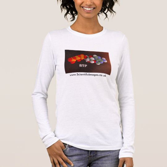 ATP - la molécula de la energía Camiseta De Manga Larga