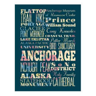 Atracciones y lugares famosos de Anchorage, Alaska Postal