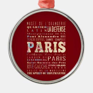 Atracciones y lugares famosos de París, Francia Ornamentos De Reyes Magos