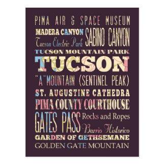 Atracciones y lugares famosos de Tucson, Arizona Postal