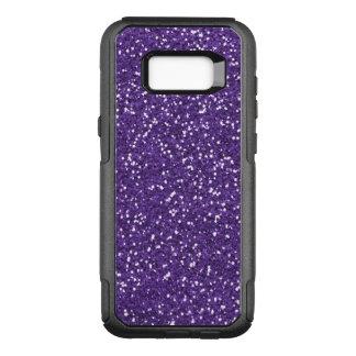 Atractivo púrpura y brillo funda commuter de OtterBox para samsung galaxy s8+