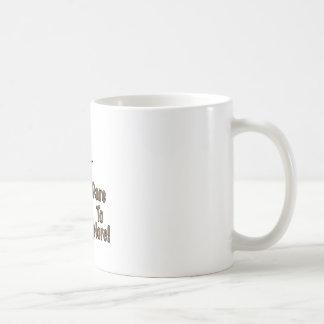 Atrévase a explorar taza básica blanca