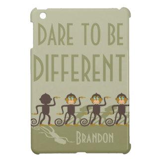 Atrévase a ser diferente, monos, safari