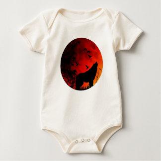 aullido del lobo body para bebé