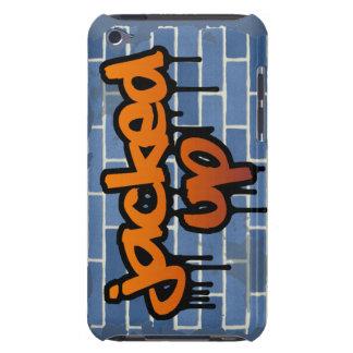 aumentado diseño del ghetto de la pintada iPod touch fundas