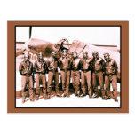 (aumentado) los aviadores de Tuskegee Tarjetas Postales