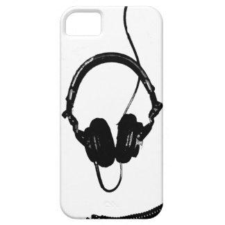 Auriculares de DJ del estilo de la plantilla iPhone 5 Protectores