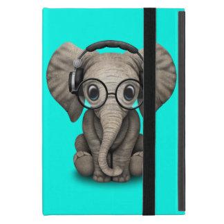 Auriculares que llevan y vidrio de DJ del elefante iPad Mini Protectores