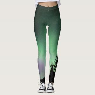 Aurora boreal 1 leggings