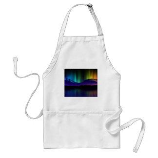 Aurora boreal delantal