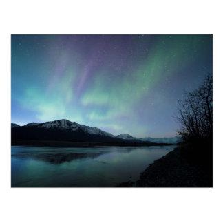 Aurora del amanecer postal