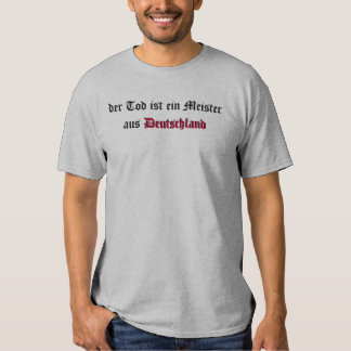 aus Deutschland de Meister del ein de los ist de Camiseta