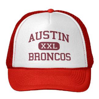 Austin - caballos salvajes - escuela secundaria -  gorra