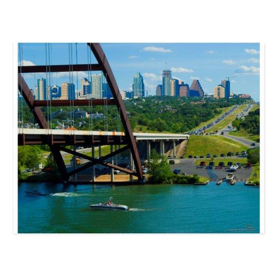 Austin, Tejas a partir del puente el 360 Postal