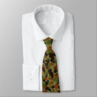 Austrailia-AUSCAM Camo Corbata Personalizada