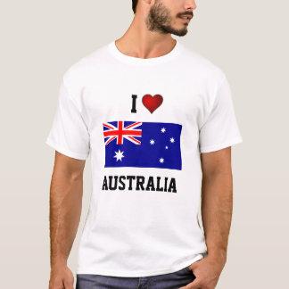 AUSTRALIA: AMO AUSTRALIA CAMISETA