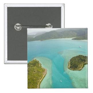 Australia, Queensland, costa de Whitsunday, Chapa Cuadrada 5 Cm