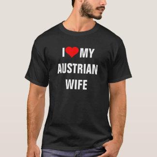 AUSTRIA: Amo mi camiseta austríaca de la esposa