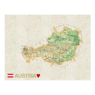 ♥ Austria de las POSTALES del MAPA