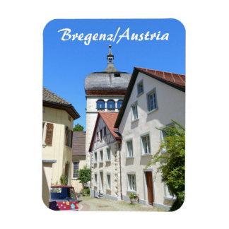 Austria, recuerdo viejo de la ciudad de Bregenz Imán Flexible