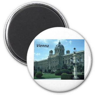 Austria--Viena--Historia--Museo--. [kan.k] - JPG Imán Redondo 5 Cm