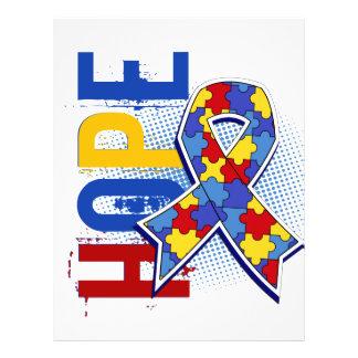 Autismo de la esperanza 2 folleto 21,6 x 28 cm
