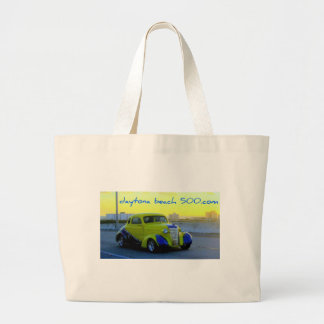 Auto amarillo clásico bolsa