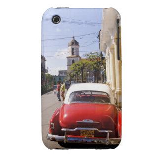 Auto americano clásico viejo en Guanabacoa una Carcasa Para iPhone 3