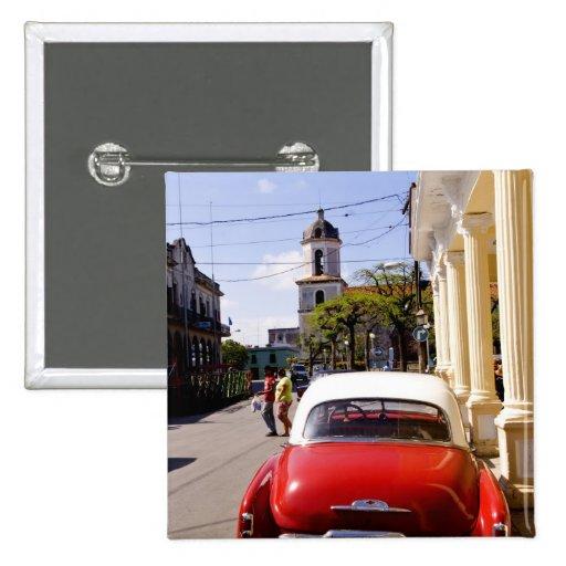 Auto americano clásico viejo en Guanabacoa una ciu Pin