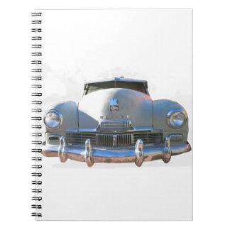 Auto clásico de Kaiser Cuaderno