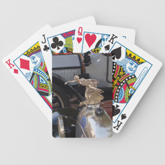 Auto clásico del coche de FIAT del vintage Baraja Cartas De Poker