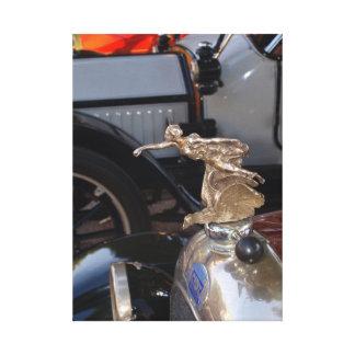 Auto clásico del coche de FIAT del vintage Impresión En Lona Estirada