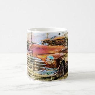 Auto clásico taza clásica