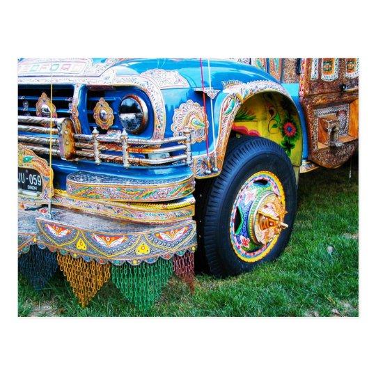 Autobús adornado, Washington, C.C. Postal