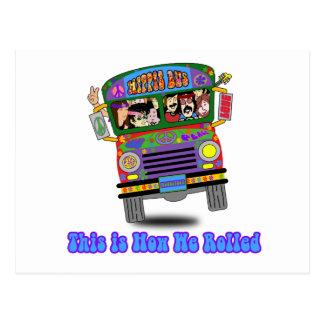 Autobús escolar del Hippie Postal
