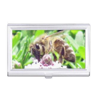 Autobús. Portatarjetas - abeja de la miel en Caja Para Tarjetas De Visita
