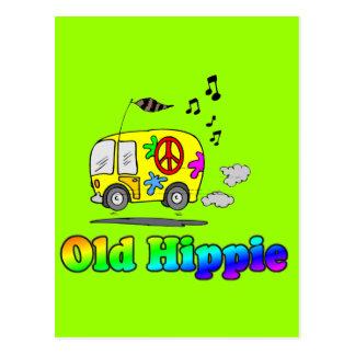 Autobús viejo del Hippie Postal