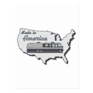 Autocaravana clásica hecha en América Postal