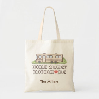Autocaravana dulce casera, clase un viaje por bolso de tela