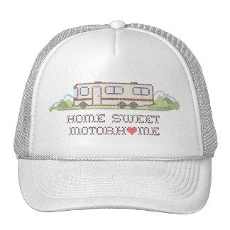 Autocaravana dulce casera, clase un viaje por gorras