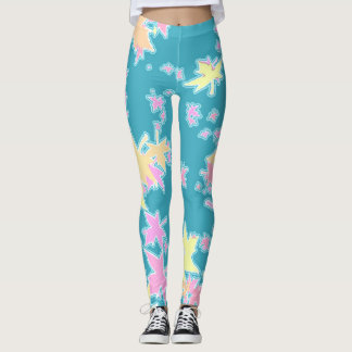 Automn Leaves Custom Leggings
