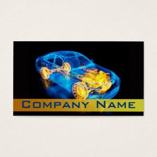 Automotriz/el competir con/diagnóstico de la tarjeta de visita