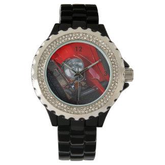 automóvil descubierto de los años 30 reloj de pulsera