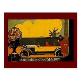 Automóviles Jorte Roy - anuncio del vintage Postal