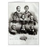 Autores famosos, 1833 felicitaciones