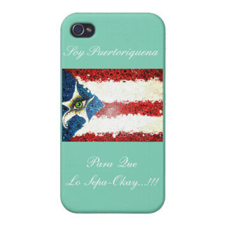 ¡Autorización de Puertoriquen Para Que Lo Sepa! iPhone 4 Carcasa