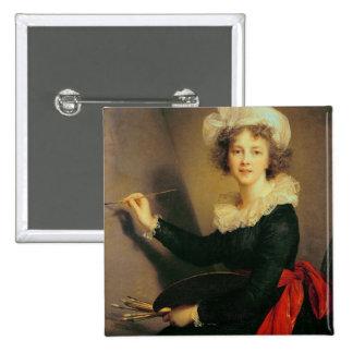 Autorretrato, 1790 (aceite en lona) chapa cuadrada
