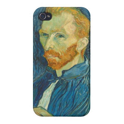 Autorretrato, 1889 (aceite en lona) iPhone 4 carcasa