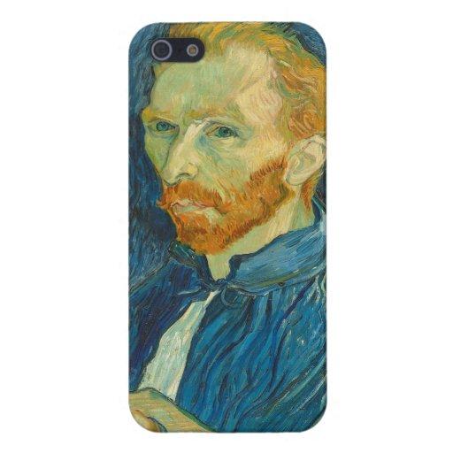 Autorretrato, 1889 (aceite en lona) iPhone 5 cárcasa