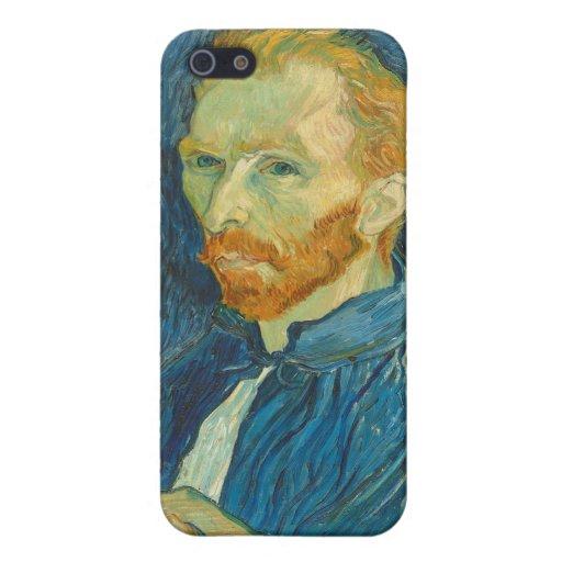 Autorretrato, 1889 (aceite en lona) iPhone 5 coberturas